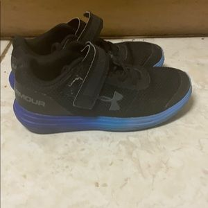 Under Armour Black and Blue shoes